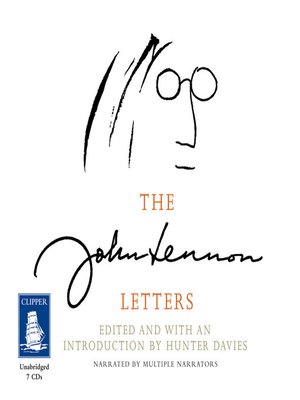 cover image of The John Lennon Letters
