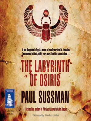 cover image of The Labyrinth of Osiris