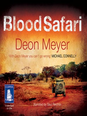 cover image of Blood Safari