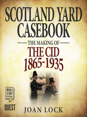 cover image of Scotland Yard Casebook