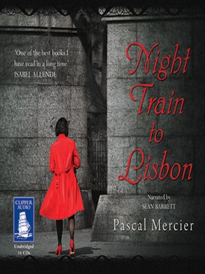 cover image of Night Train to Lisbon