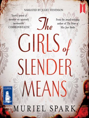 cover image of The Girls of Slender Means