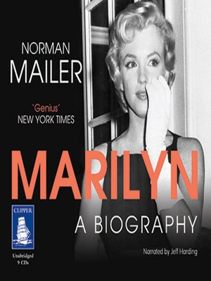 cover image of Marilyn--A Biography