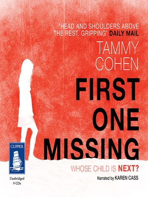 cover image of First One Missing