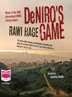 cover image of De Niro's Game