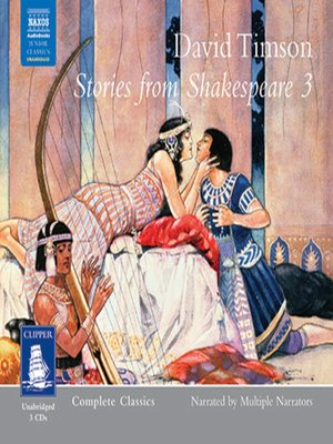 cover image of Stories from Shakespeare--Volume III