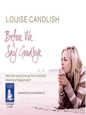 cover image of Before We Say Goodbye