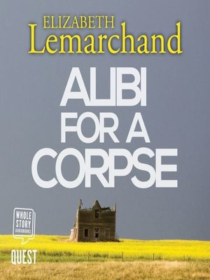 cover image of Alibi For a Corpse