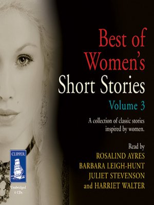 cover image of Best of Women's Short Stories--Volume III