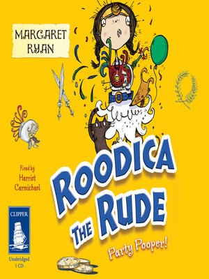 cover image of Roodica the Rude--Party Pooper