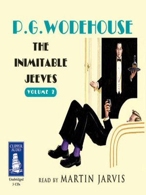 cover image of The Inimitable Jeeves--Volume 2