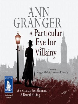 cover image of A Particular Eye for Villainy