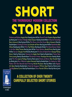 cover image of Short Stories--The Thoroughly Modern Collection