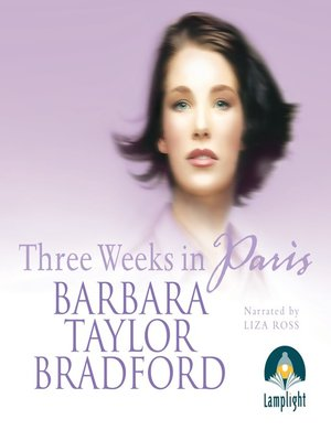 cover image of Three Weeks in Paris