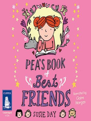 cover image of Pea's Book of Best Friends