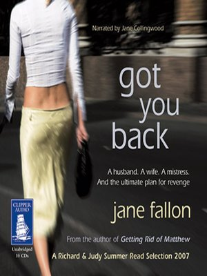cover image of Got You Back