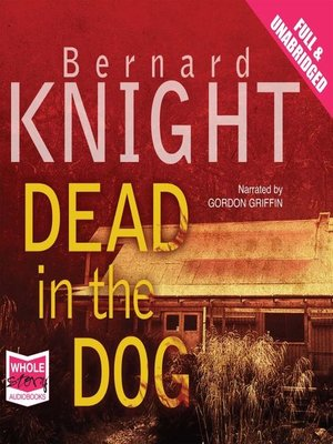 cover image of Dead in the Dog