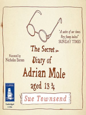 cover image of The Secret Diary of Adrian Mole, Aged 13 3/4