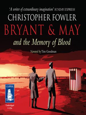 cover image of Bryant & May and the Memory of Blood