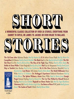 cover image of Short Stories--The Ultimate Classic Collection