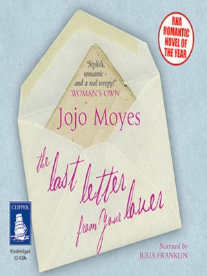 cover image of Last Letter from Your Lover