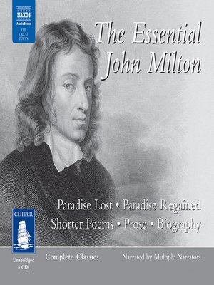 cover image of The Essential John Milton