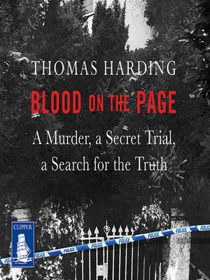 cover image of Blood on the Page