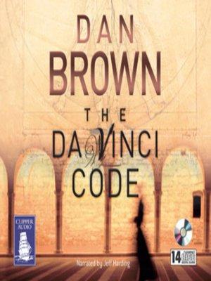 cover image of The Da Vinci Code