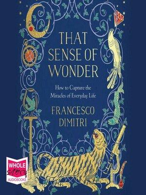 cover image of That Sense of Wonder