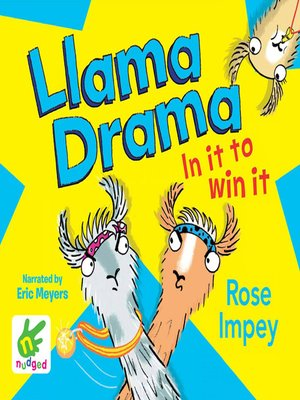cover image of Llama Drama--In It to Win It