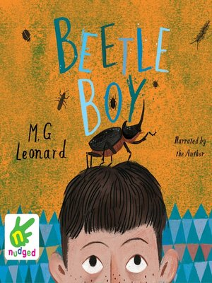 cover image of Beetle Boy
