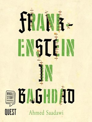 cover image of Frankenstein in Baghdad