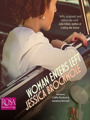 cover image of Woman Enters Left