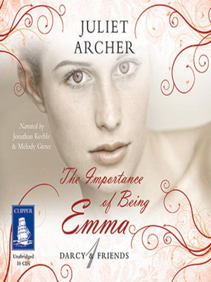 cover image of The Importance of Being Emma