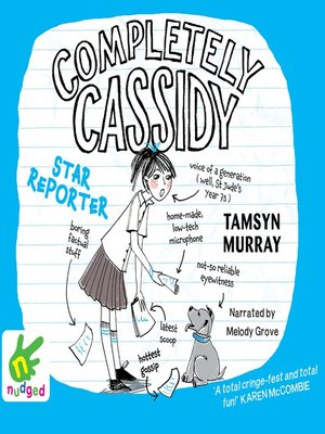 cover image of Completely Cassidy--Star Reporter
