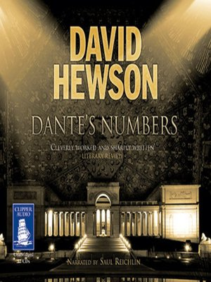 cover image of Dante's Numbers