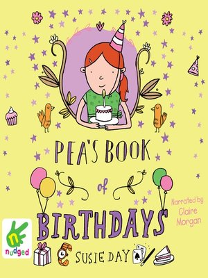 cover image of Pea's Book of Birthdays