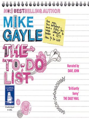 cover image of The To-Do list