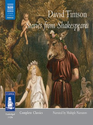 cover image of Stories from Shakespeare--Volume I