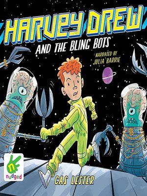 cover image of Harvey Drew and the Bling Bots