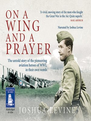 cover image of On a Wing and a Prayer