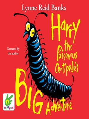 cover image of Harry the Poisonous Centipede's Big Adventure