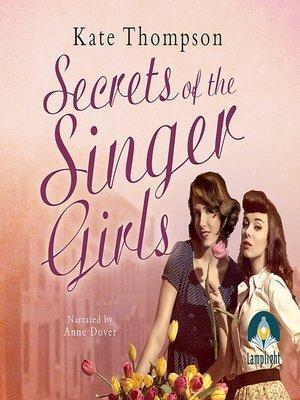 cover image of Secrets of the Singer Girls