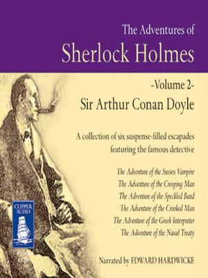 cover image of The Adventures of Sherlock Holmes, Volume II