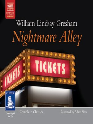cover image of Nightmare Alley