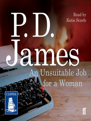 cover image of An Unsuitable Job for a Woman