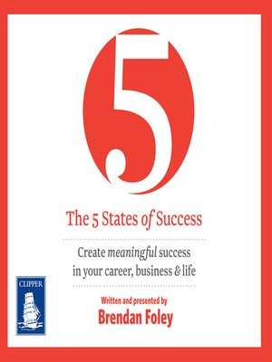 cover image of The 5 States of Success