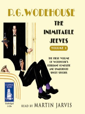 cover image of The Inimitable Jeeves--Volume One