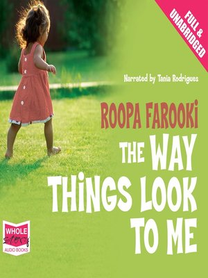 cover image of The Way Things Look to Me