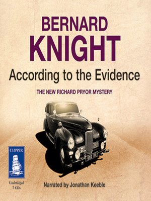 cover image of According to the Evidence